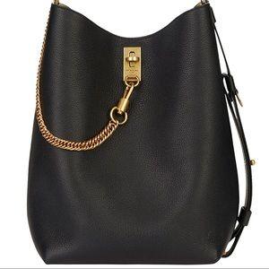 Like new givenchy gv bucket bag black large